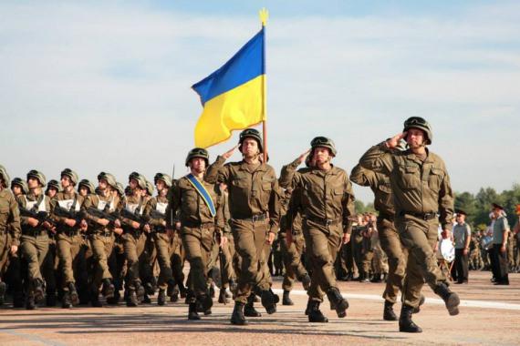 Звание украинских военных перевели на коды НАТО