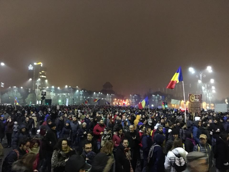 УРумунії відбулися масштабні антикорупційні мітинги