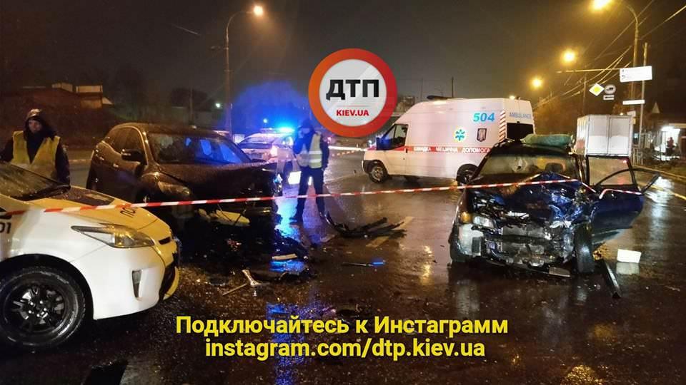 Правоохоронці прокоментували смертельну ДТП уКиєві заучастю працівника МВС