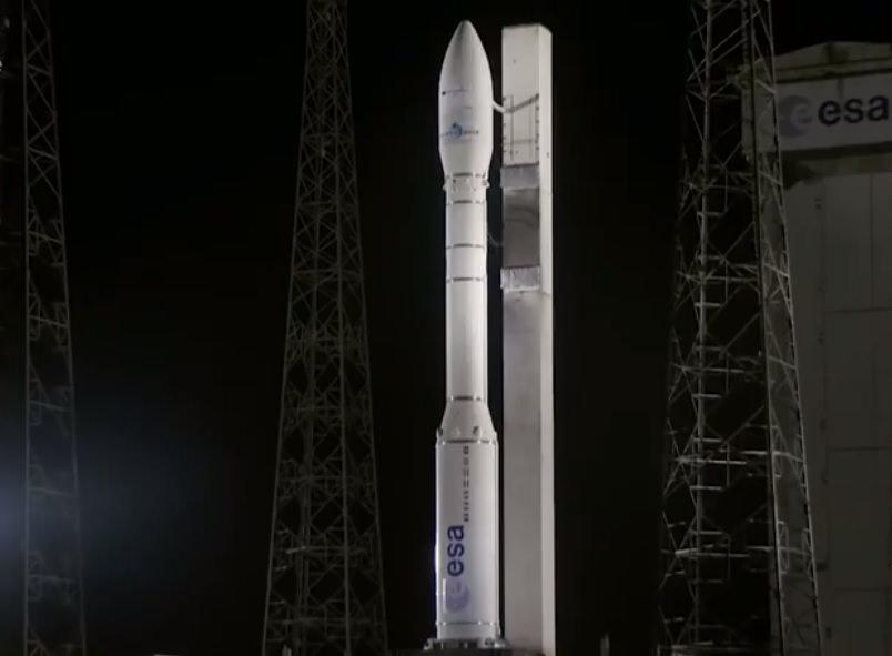Європейська ракета-носій Vega зукраїнським двигуном успішно стартувала зкосмодрому Куру