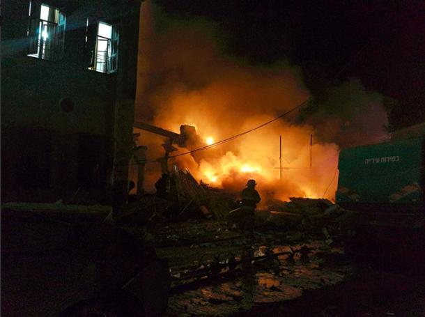 Вибух вмагазині вТель-Авіві: загинули четверо осіб, ще п'ятеро постраждали