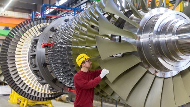 Siemens підписав зРосією угоду напоставку газових турбін