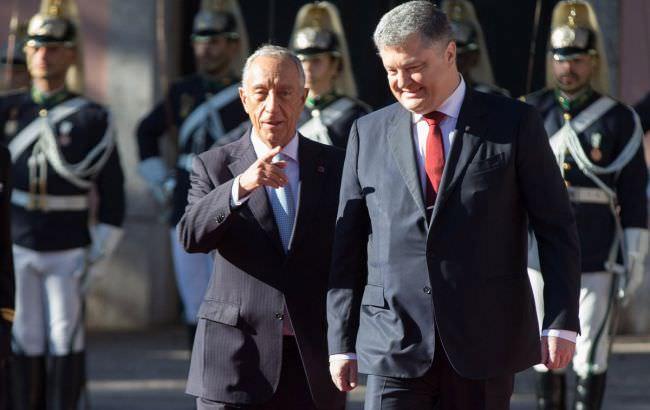 Ми підтримуємо Україну вНАТО і ОБСЄ — Президент Португалії