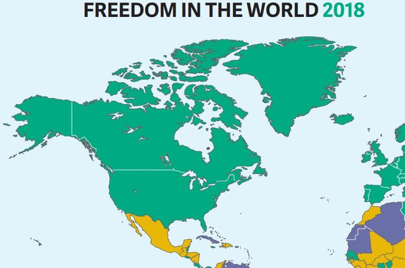 Демократія усвіті зіткнулась знайбільшою кризою задесятиліття— Freedom House