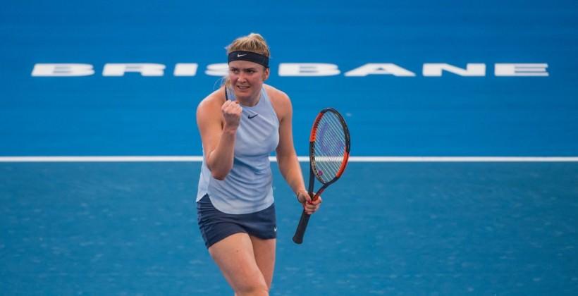 Українка Світоліна вийшла до півфіналу турніру WTA вБрісбені