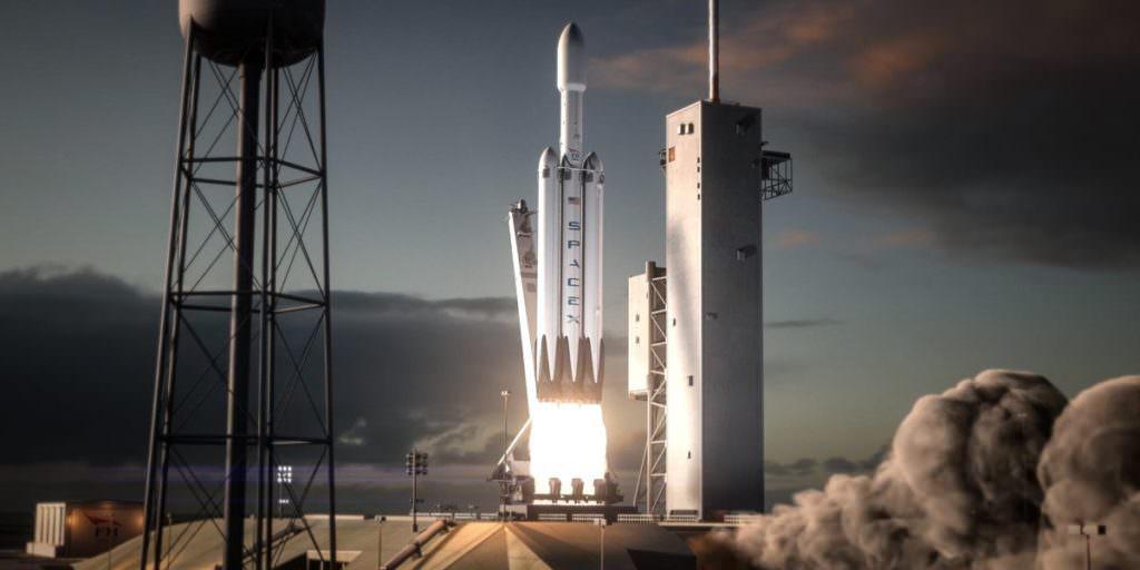 Запуск ракети Falcon Heavy від SpaceX,