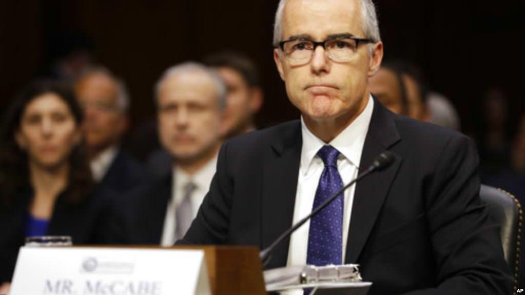 УСША звільнили заступника директора ФБР Маккейба, якого критикував Трамп