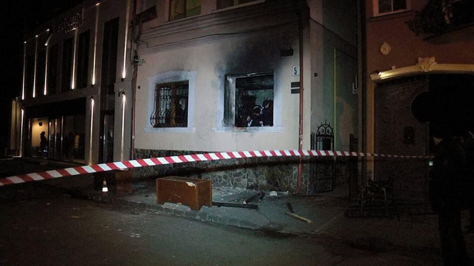 До підпалу офісу Товариства угорської культури причетні працівники МГБ Придністров'я таФСБ