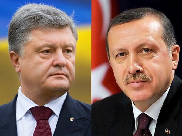 Порошенко і Ердоган обговорили вибори президентаРФ вокупованому Криму