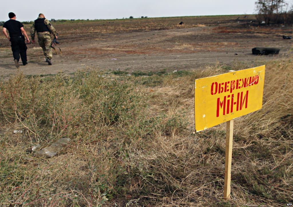 Неповнолітня дівчина через мінне поле втекла з окупованого Донбасу на підконтрольну Україні територію