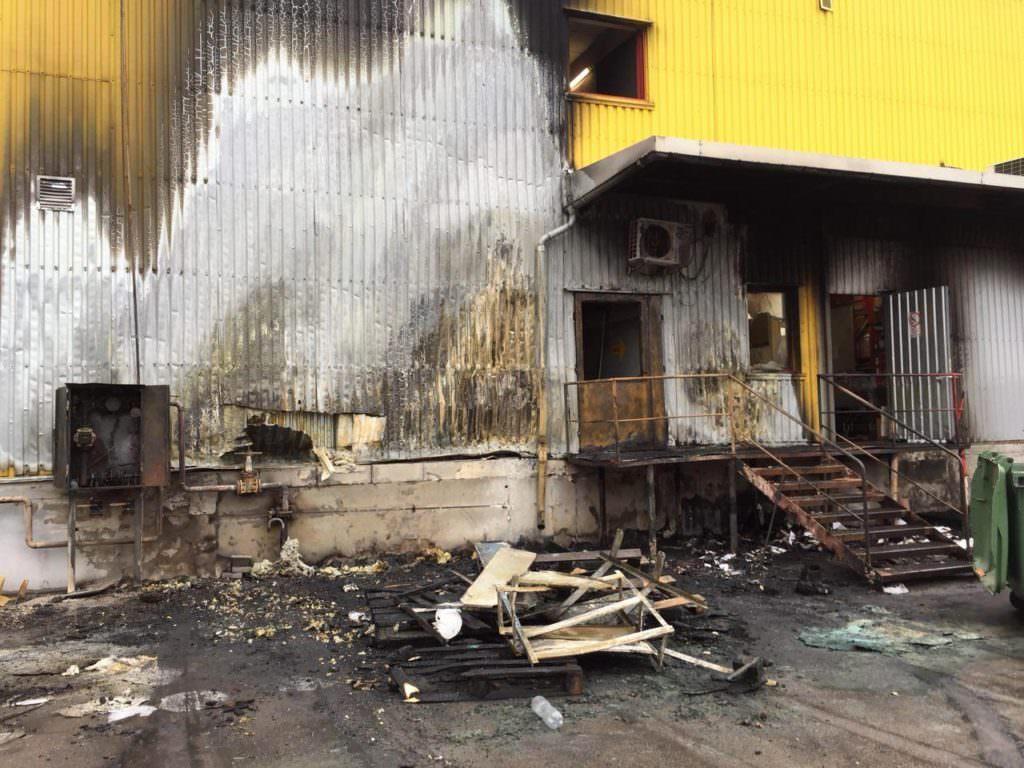 УЗапоріжжі рятувальники ліквідували пожежу упродовольчому супермаркеті