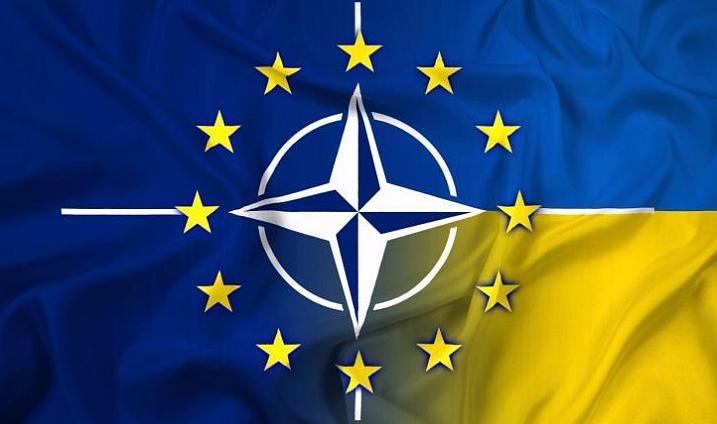 """Результат пошуку зображень за запитом """"Курс Украины в НАТо и ЕС"""""""