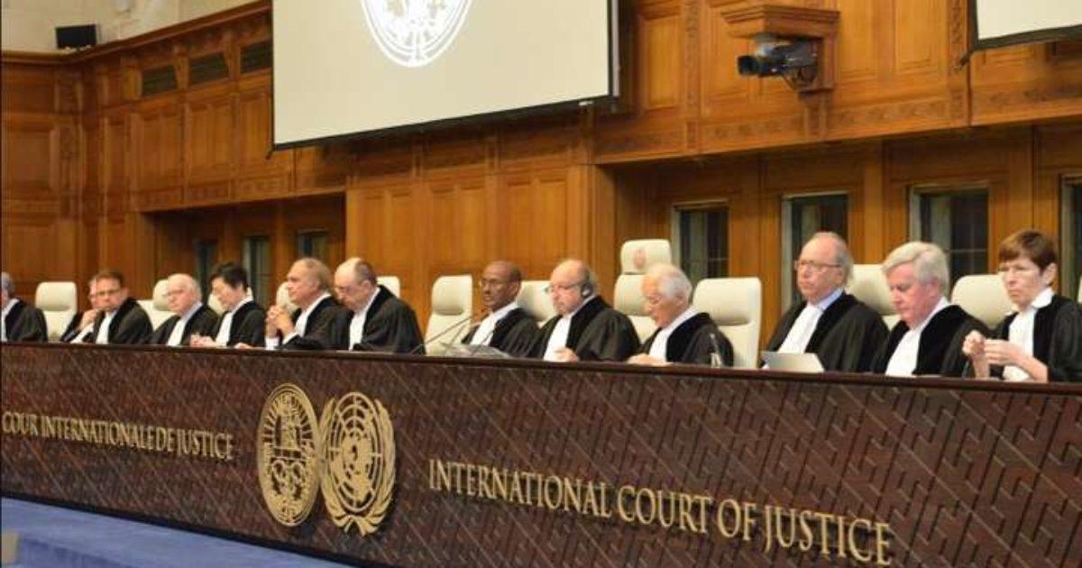 Суд у Гаазі взяв до уваги доповідь щодо воєнних злочинів РФ в Україні у 2014 році